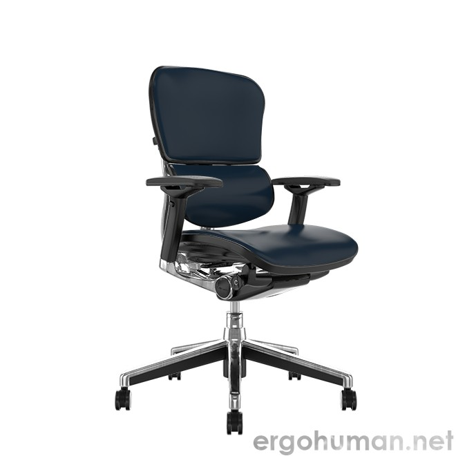 Ergohuman Leather Office Chair no Head Rest