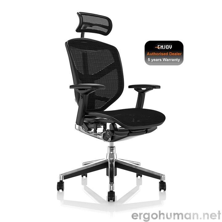 Enjoy Office Chair Black Mesh