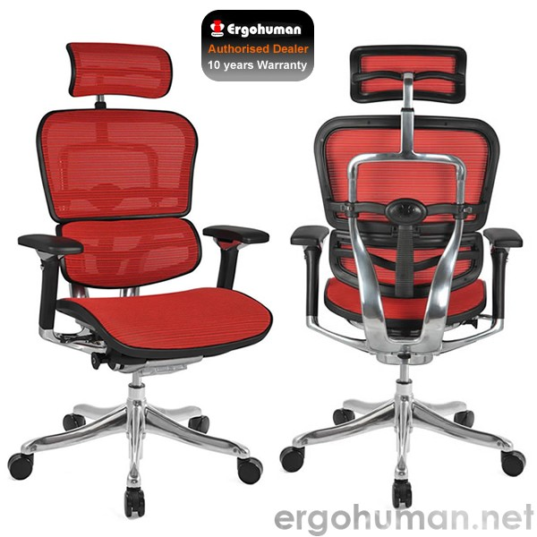 Ergohuman Plus Luxury Leather Office Chairs